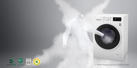 FROM THE AIR YOU BREATHE TO THE CLOTHES YOU WEAR,  LG REFRESHES AND REVITALIZES YOUR LIFE