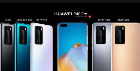 The new HUAWEI P40 Pro